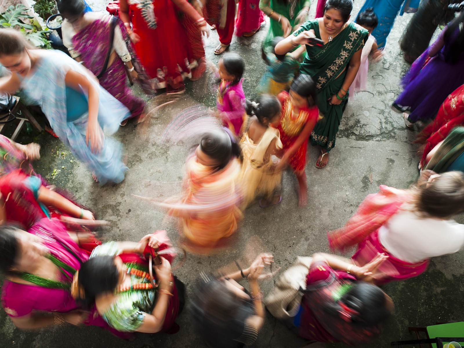 I was invited to photograph a party at the local Women's Empowerment group. It was celebrating the Hindu festival of Teej. It was things like this that I would not have gotten to be part of if I wasn't volunteering!