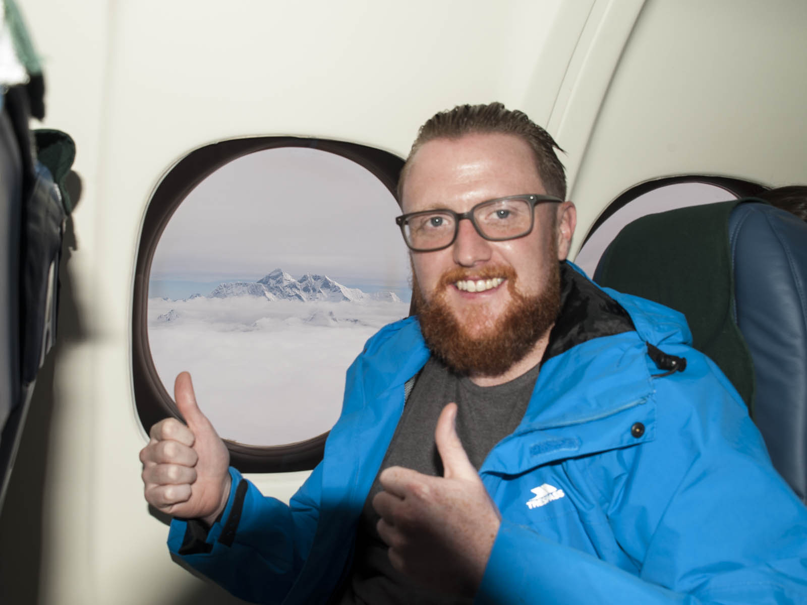 Seeing Mount Everest had been on my bucket list for years…scratch!
