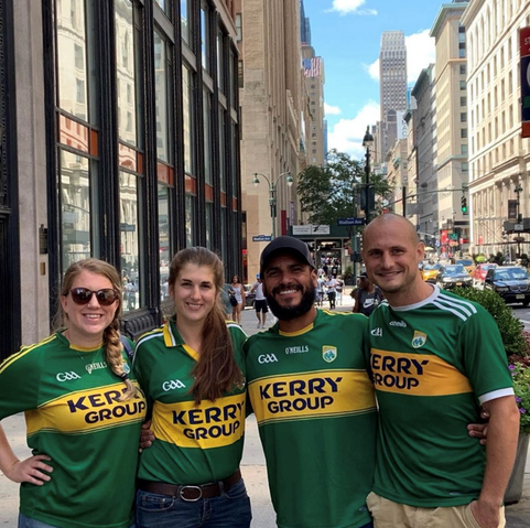 Kerry GAA jerseys in New York