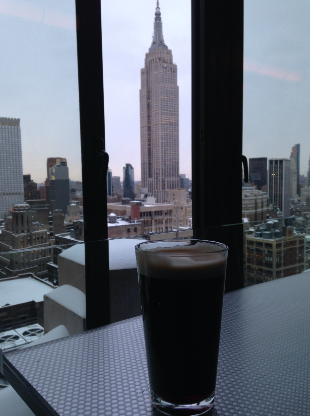 A coffee with a view