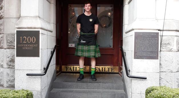 Irish man in Canada