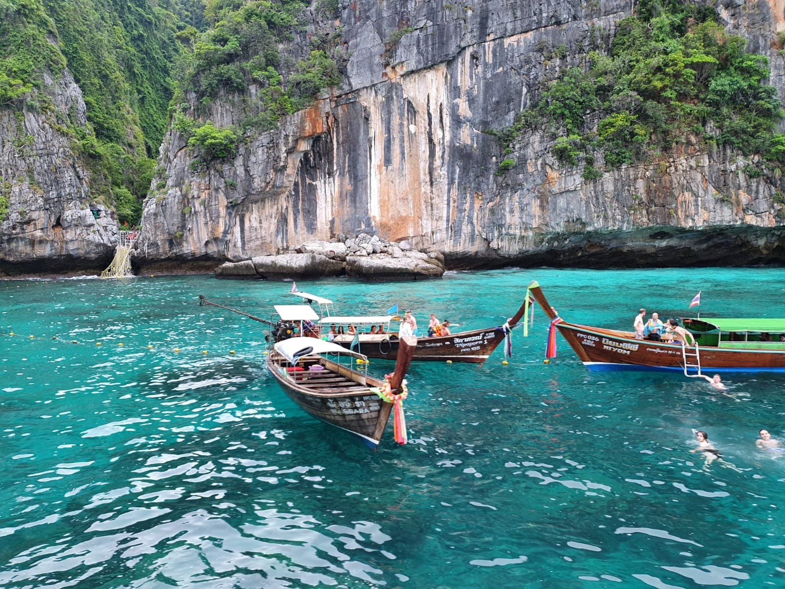 small boats in Thailand