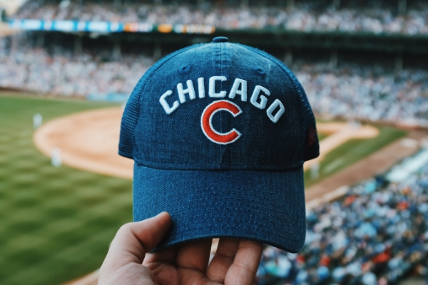 baseball cap with chicago